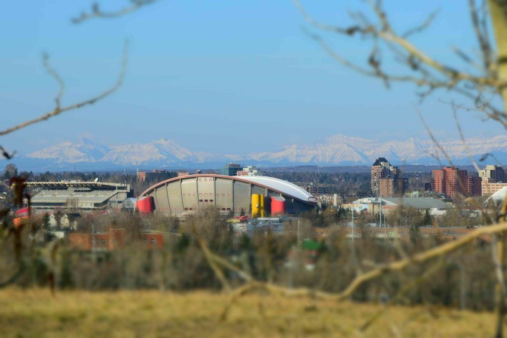 www.iamcalgary.ca IAmCalgary Tom Campbell Hill Natural Park Saddledome Snow Capped Mountains