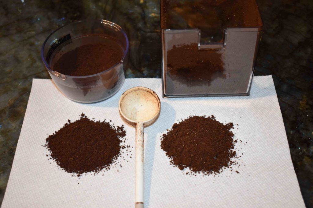 www.iamcalgary.ca I Am Calgary Derek's Coffee Bean Grind vs Mill test