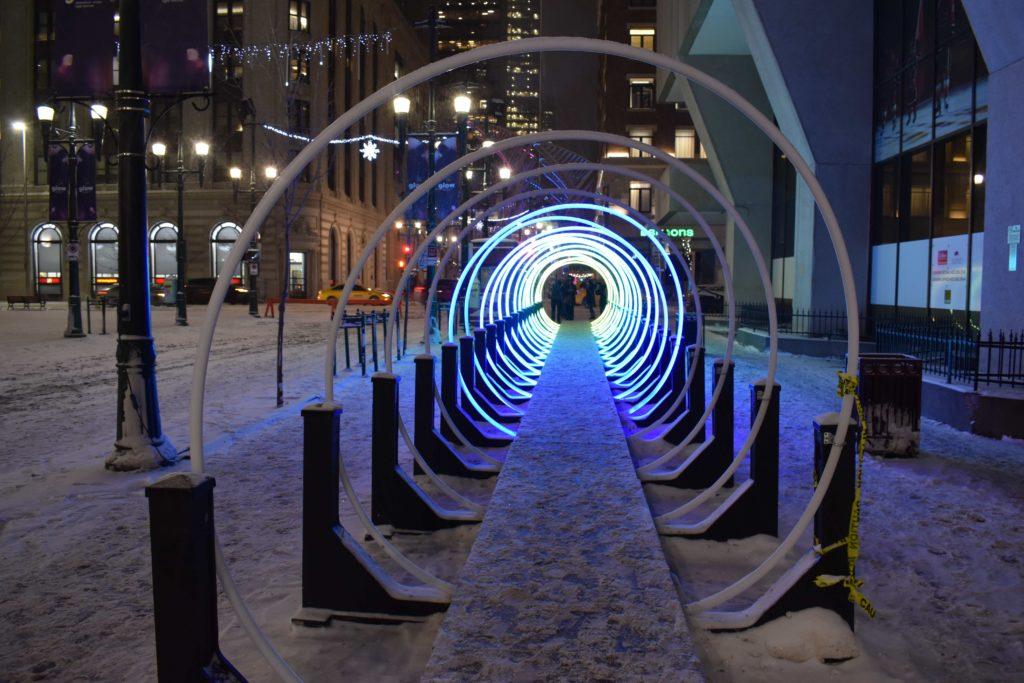 www.IamCalgary.ca I Am Calgary YYC Staycation YYC Glow Fest Stephen Ave Snow