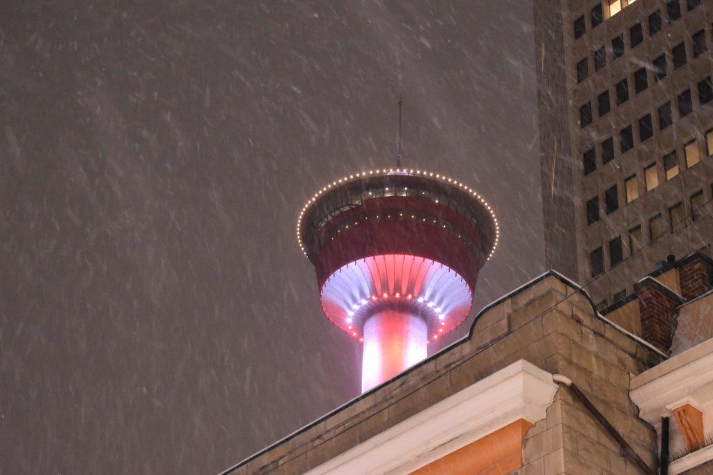 www.IamCalgary.ca I Am Calgary YYC Staycation YYC Glow Fest Calgary Tower Snow