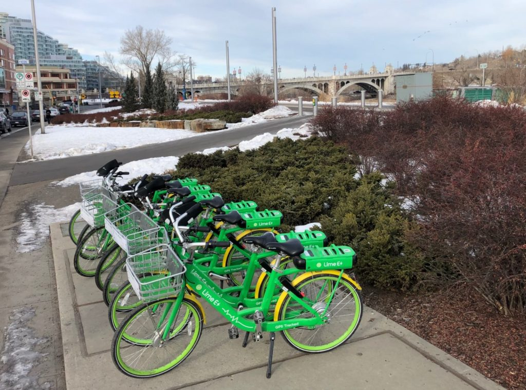 www.iamcalgary.ca I Am Calgary Lime E+ Bicycle Rentals