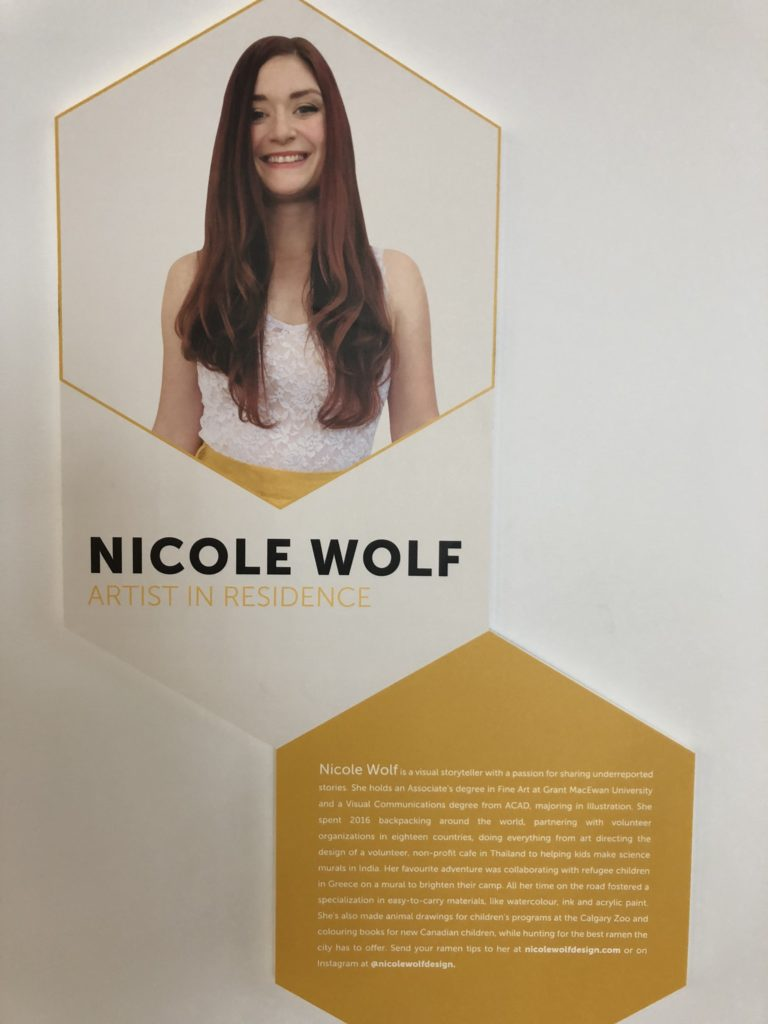 www.iamcalgary.ca I Am Calgary Interview with Nicole Wolf 20190115 Library Bio