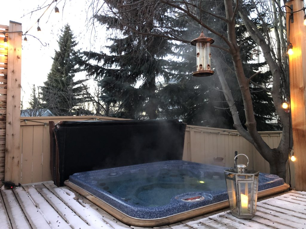 www.iamcalgary.ca I Am Calgary Hot Tub Back Deck