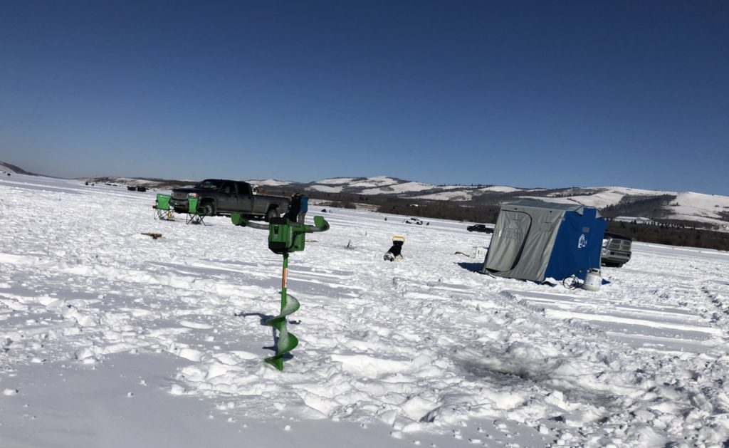 www.IAmCalgary.ca I Am Calgary Ice Fishing Auger and Chain Lakes Site