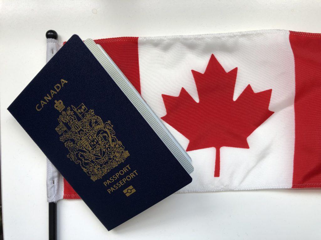www.iamcalgary.ca IAmCalgary DD Passport and Canadian Flag