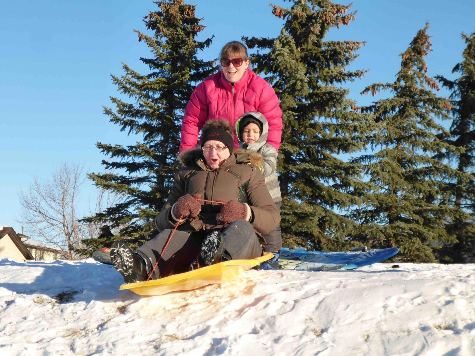 www.iamcalgary.ca I Am Calgary Toboggan and Sled Slopes