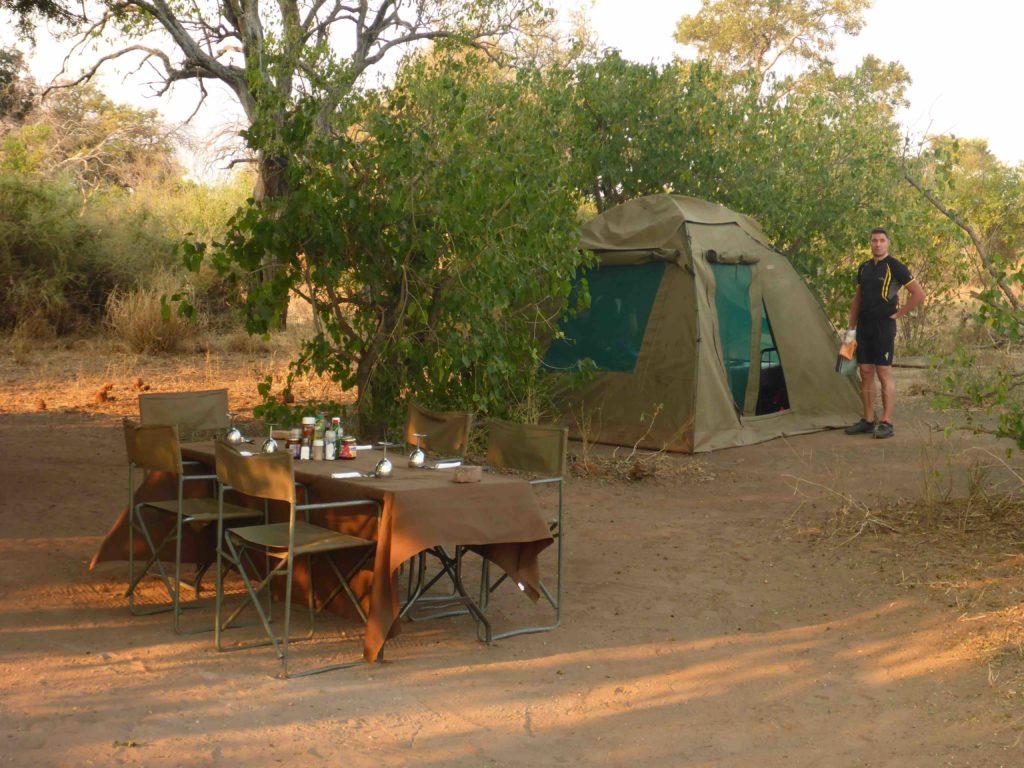www.iamcalgary.ca IAmCalgary 2016 Cycle Mashatu Botswana Safari Camp Dining Table