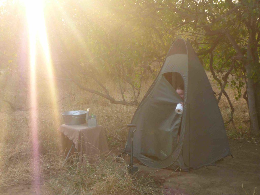 www.iamcalgary.ca IAmCalgary 2016 Cycle Mashatu Botswana Safari Potty Privacy