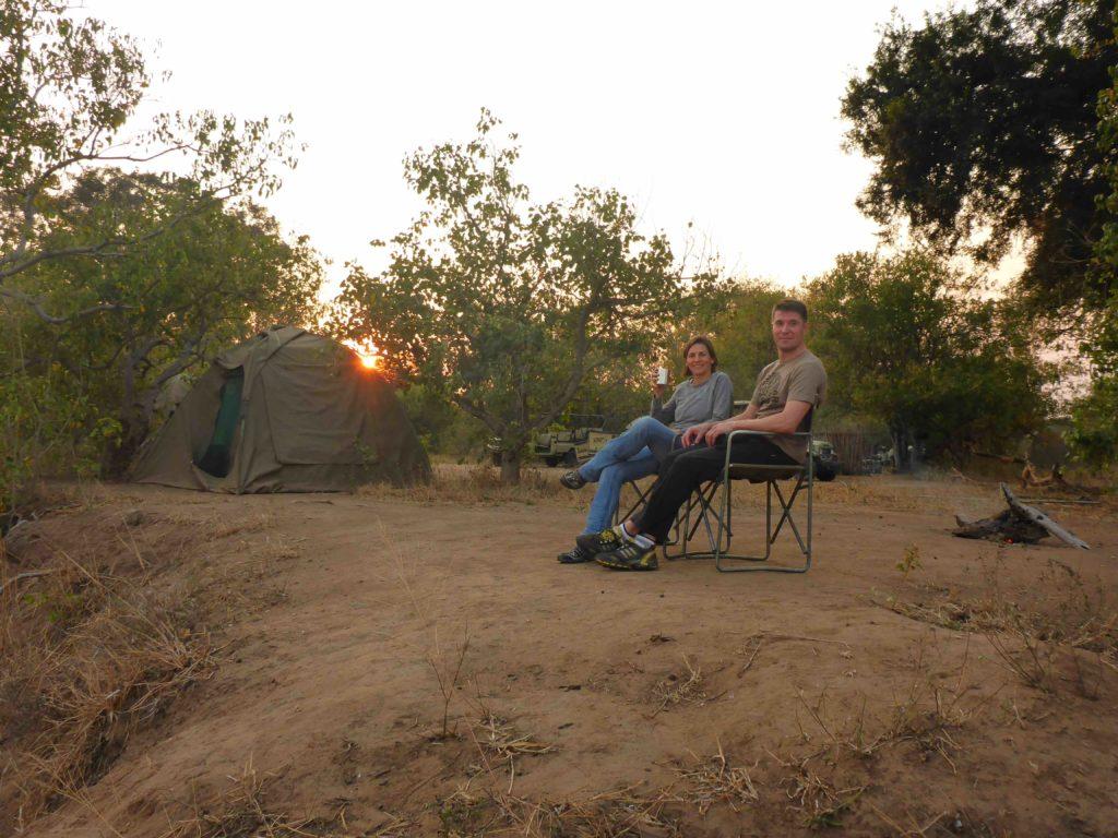 www.iamcalgary.ca IAmCalgary 2016 Cycle Mashatu Botswana Safari Camp Sundowners