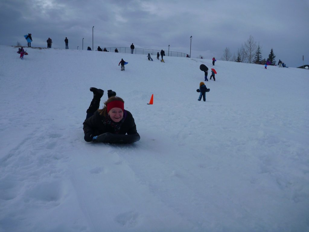 www.iamcalgary.ca I Am Calgary Toboggan and Sled Slopes Hidden Valley