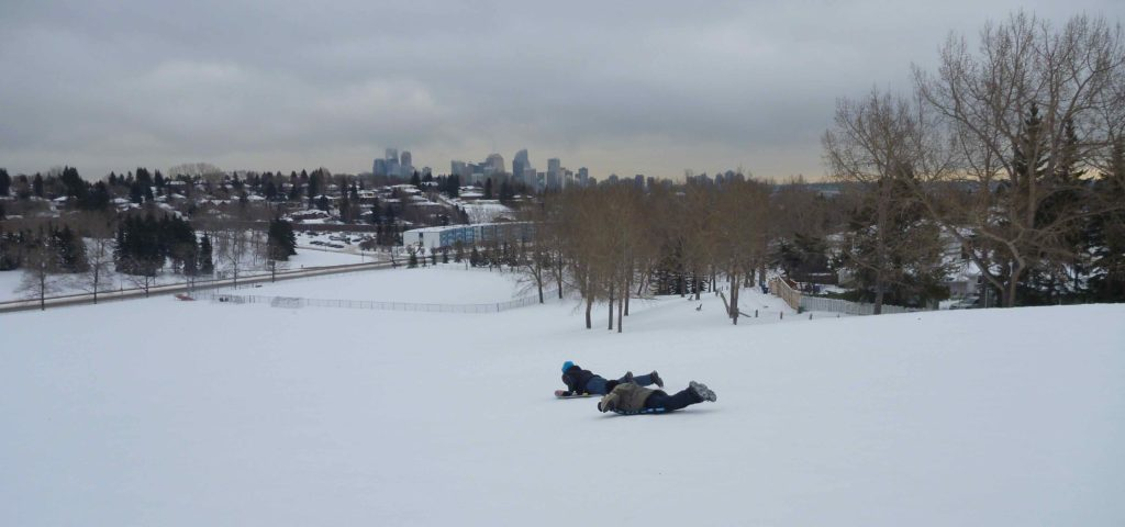 www.iamcalgary.ca I Am Calgary Toboggan and Sled Slopes St Andrew's Heights