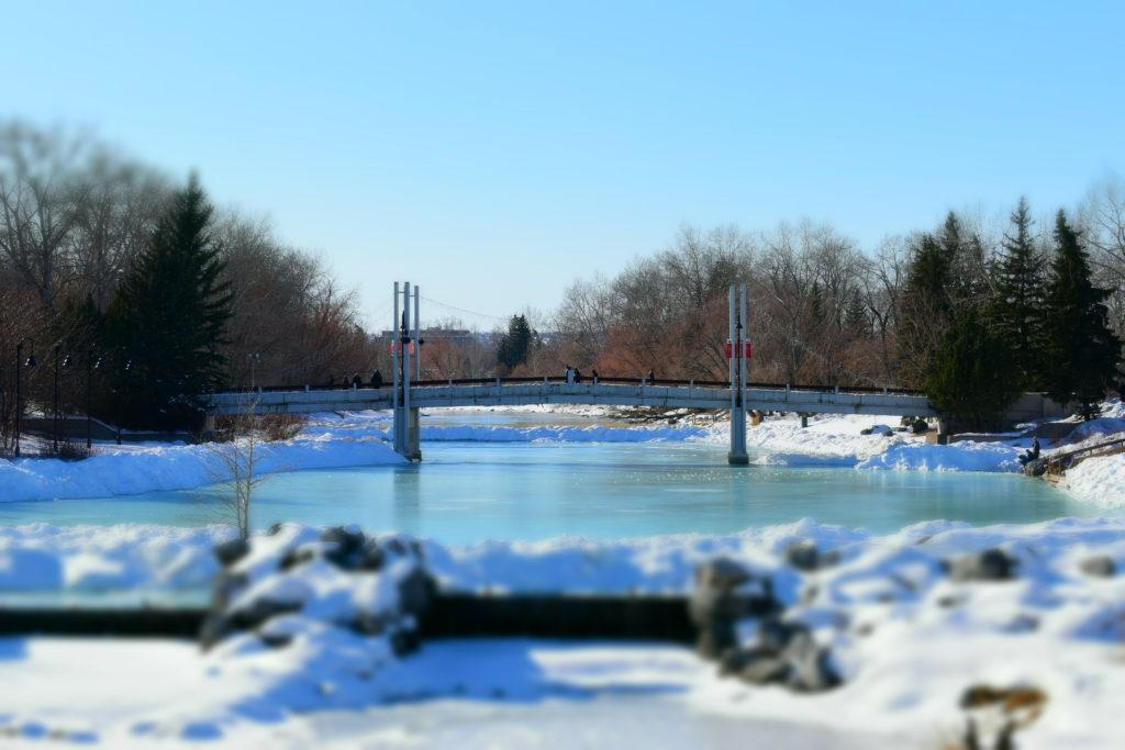 www.iamcalgary.ca Prince's Island Park Winter