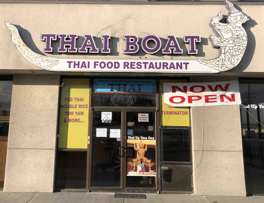 I Am Calgary IAC Thai Boat Restaurant