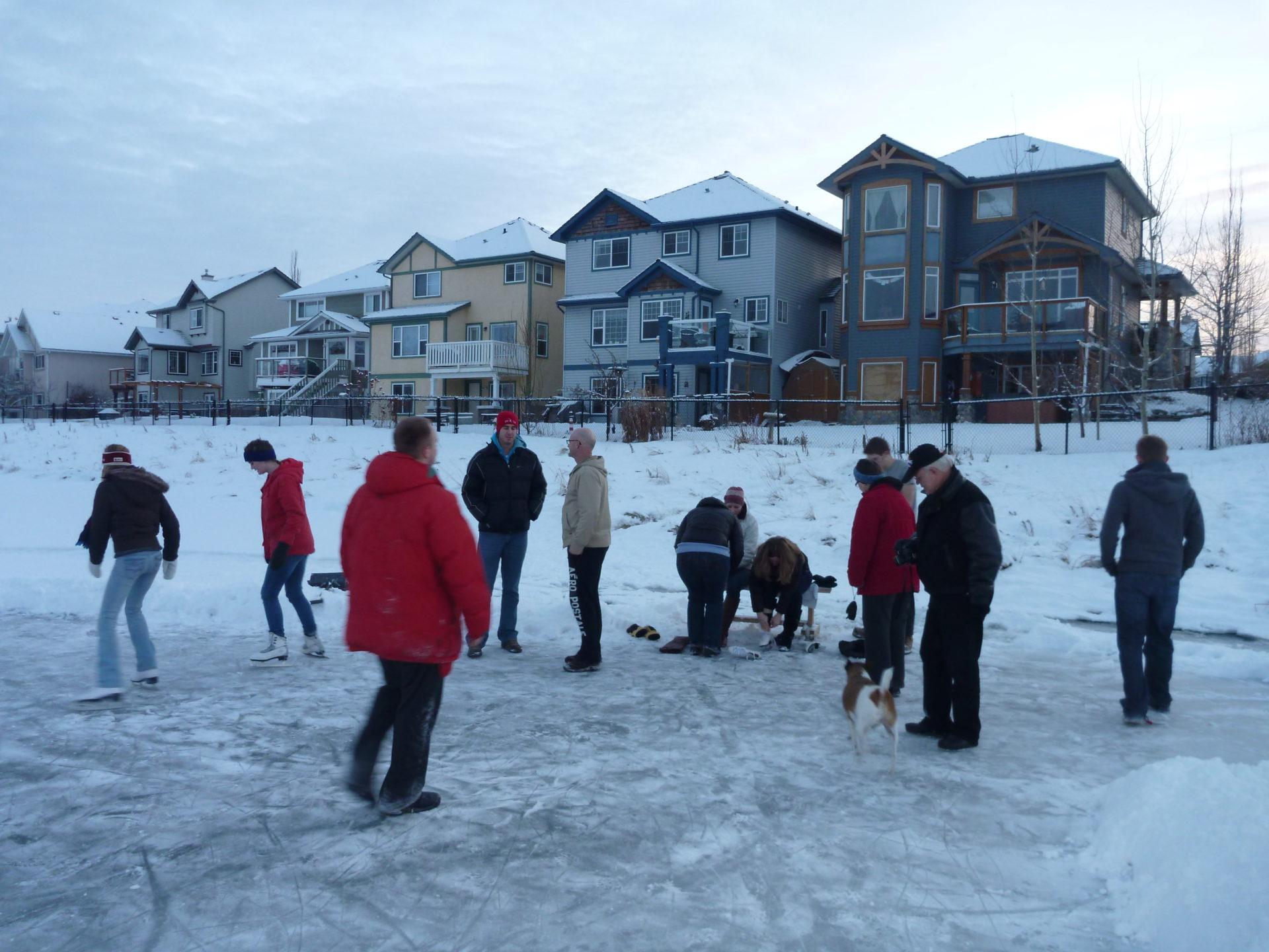 www.iamcalgary.ca I Am Calgary Hidden Valley Skating